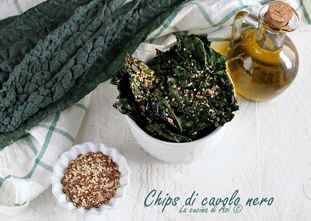 Chips Di Cavolo Nero Stuzzichino Salato La Cucina Di Asi
