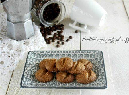 FROLLINI CROCCANTI AL CAFFE'