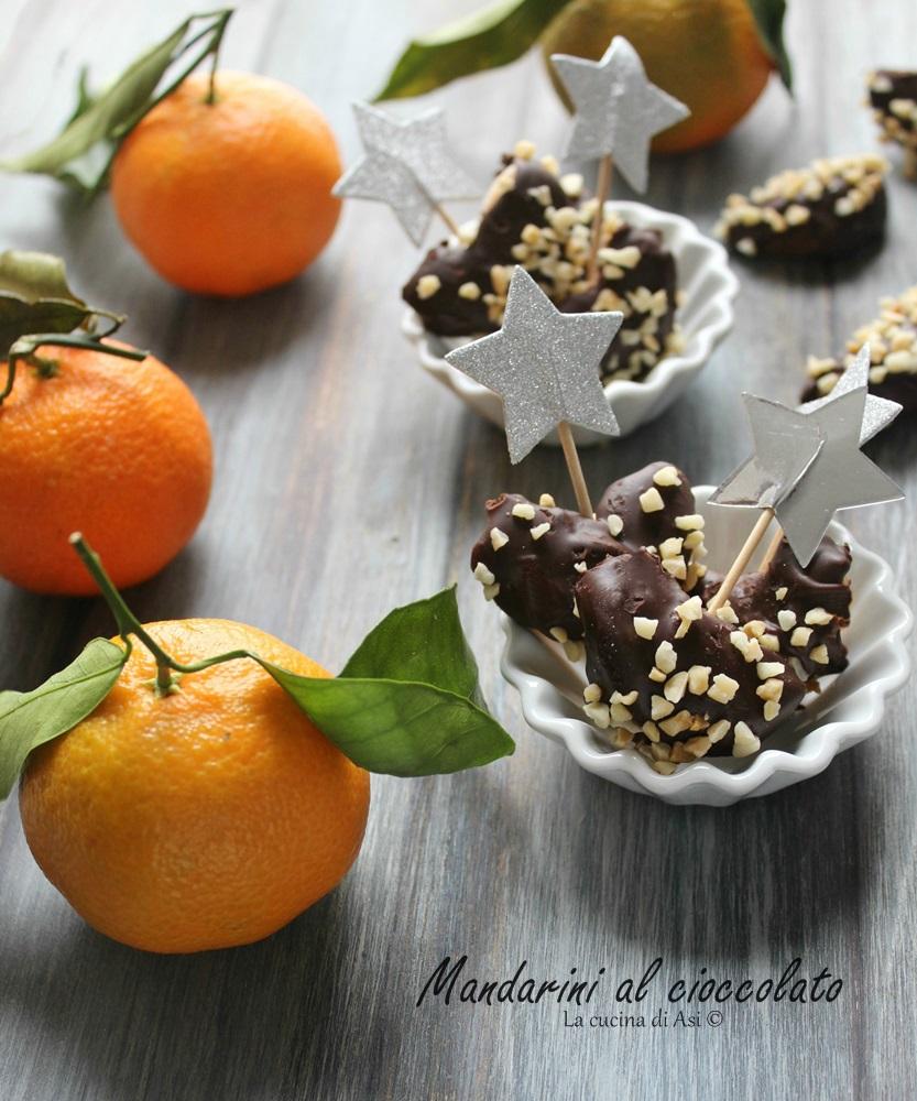 Mandarini al cioccolato