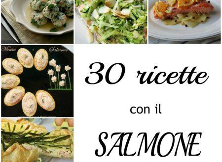 30 RICETTE CON IL SALMONE