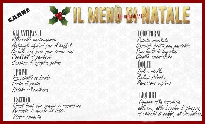 Menu Casalingo Di Natale.Menu Di Natale Carne 18 Piatti Per Il Tuo Pranzo La