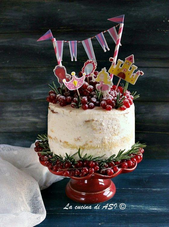 Come si fa una Naked Cake   Vaniglia e Pistacchio