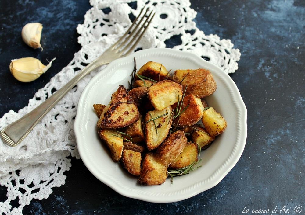 Patate sablee al forno