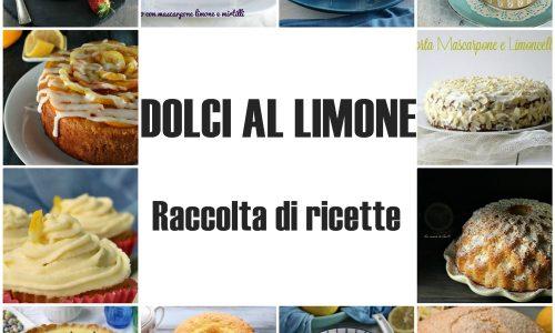 DOLCI AL LIMONE-RACCOLTA DI RICETTE