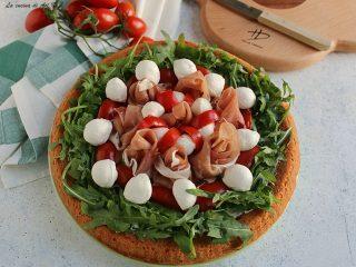 Crostata salata morbida farcita