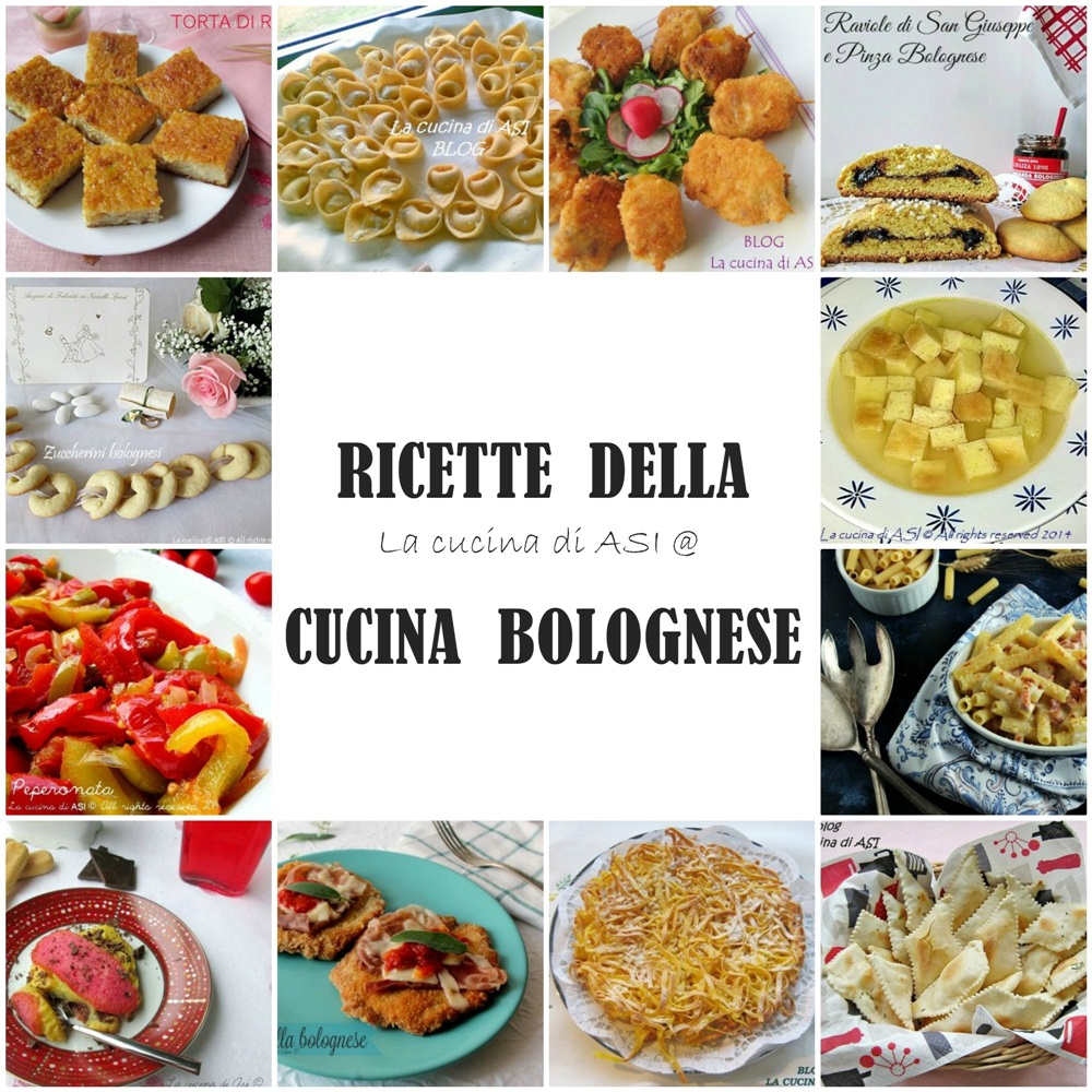 Ricette della cucina bolognese bologna la grassa e le for Ricette cucina