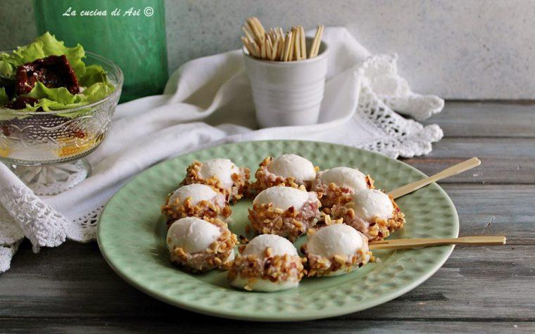 Macaron di mozzarella