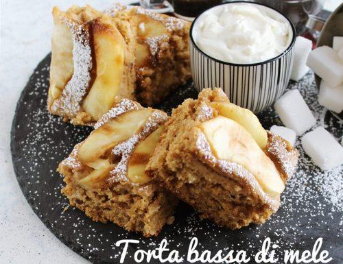 TORTA BASSA DI MELE