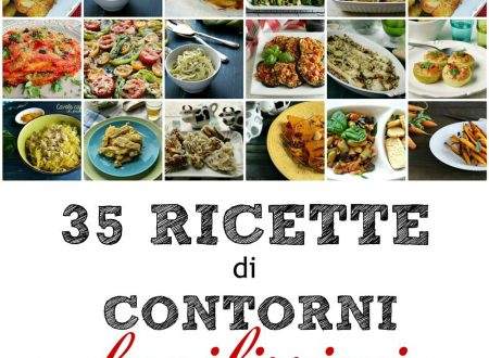 35 RICETTE DI CONTORNI FACILISSIMI