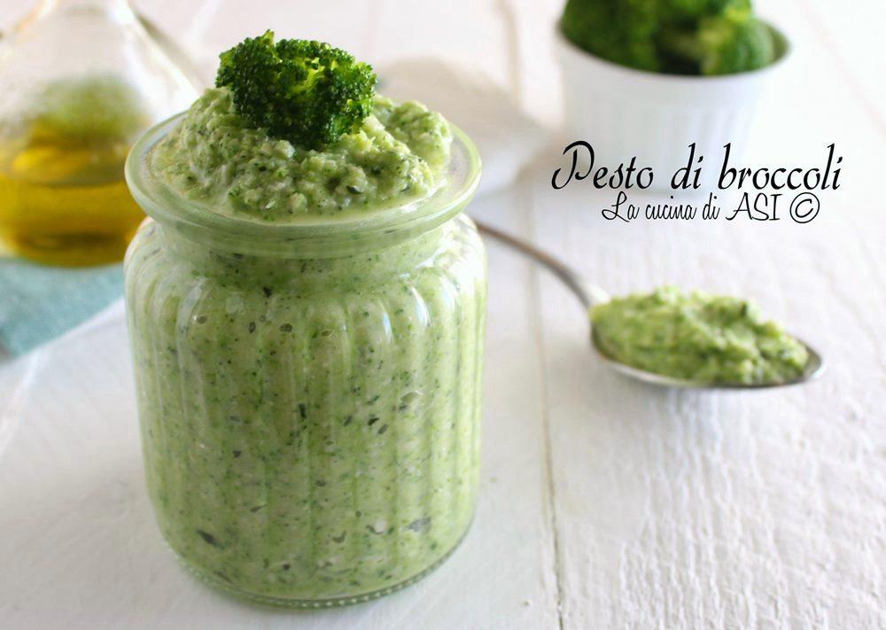 Pesto di broccoli facile