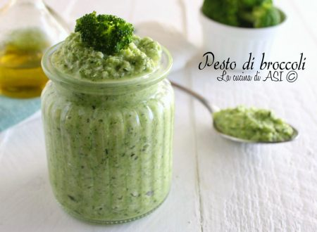PESTO DI BROCCOLI FACILE