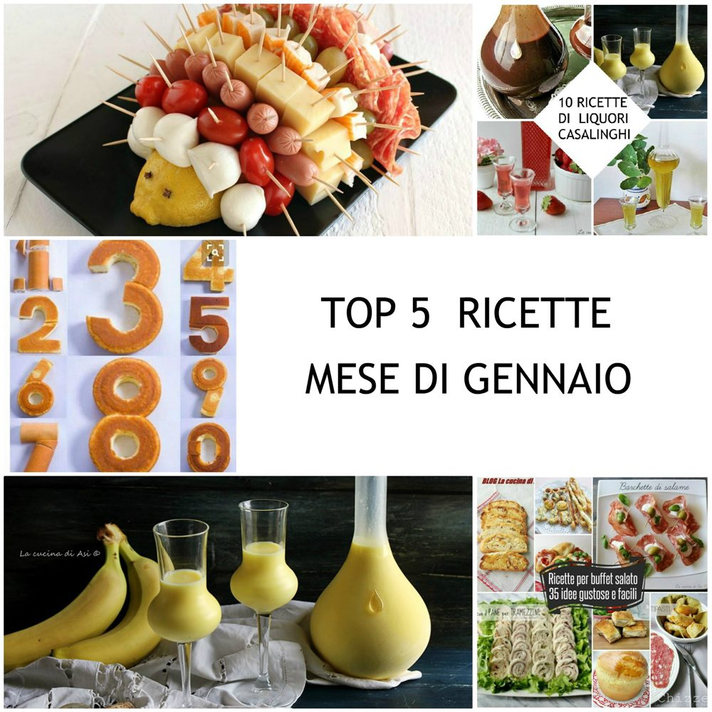 Top 5 Ricette Mese Di Gennaio Le Vostre Preferite La