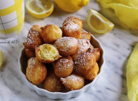 Bocconcini soffici al limone