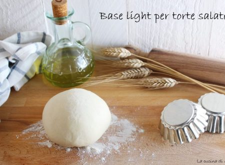 Base light per torte salate