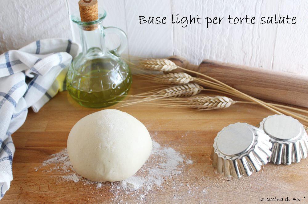 Base light per torte salate