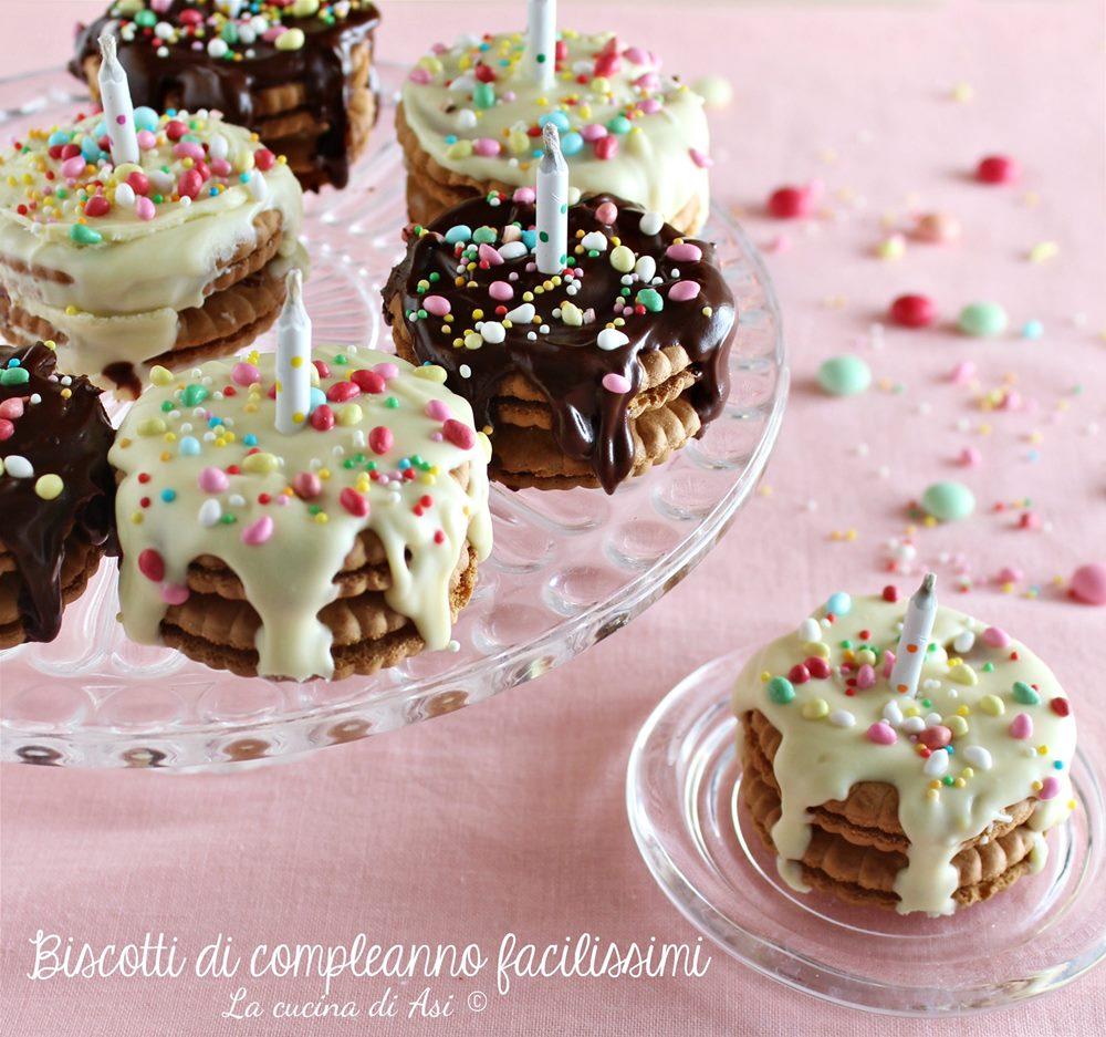 Biscotti di compleanno facilissimi