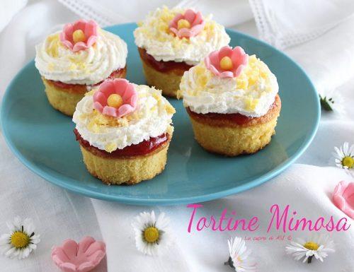 Tortine mimosa