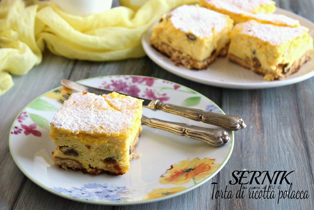 Sernik-torta di ricotta polacca