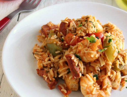Jambalaya piatto etnico buonissimo