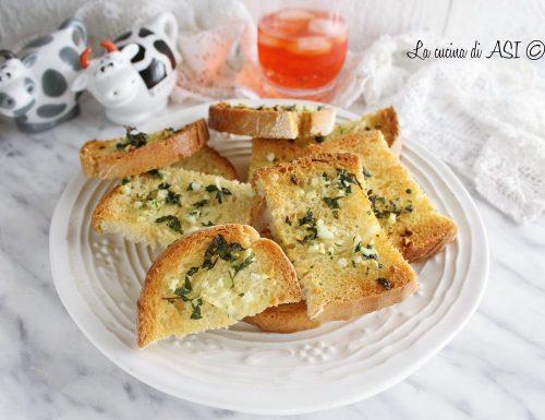 Pane condito-Garlic bread