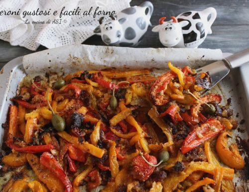 Peperoni gustosi e facili al forno