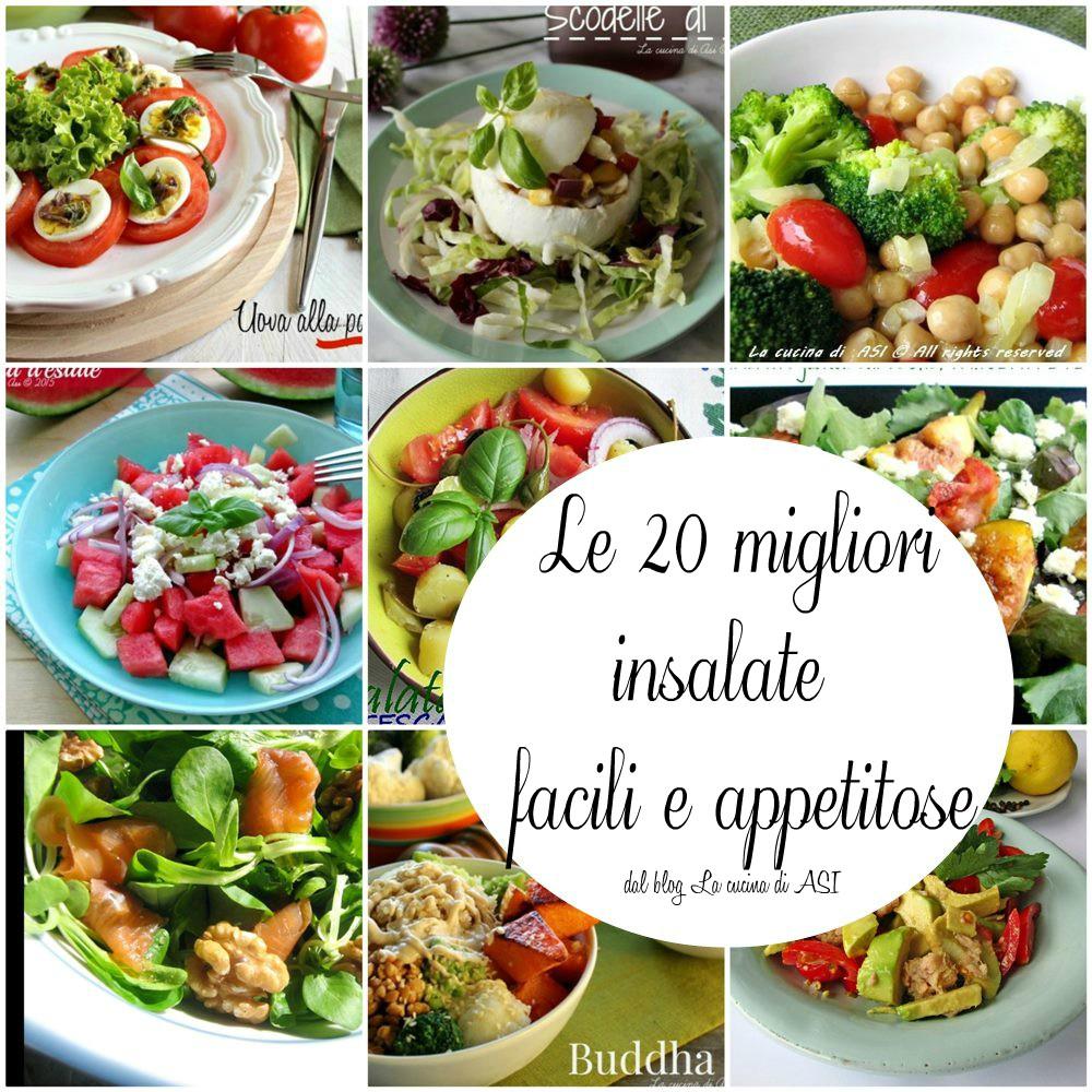 Le 20 migliori insalate facili e appetitose
