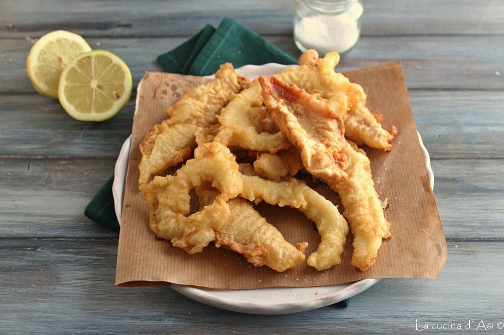Fritto in pastella di triglie e calamari