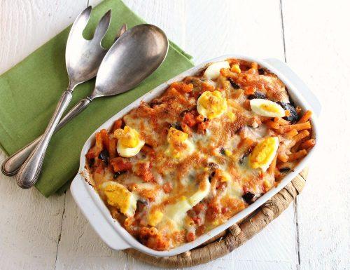 Pasta al forno alla siciliana