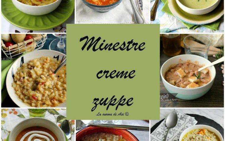 Minestre-creme-zuppe-Raccolta di ricette autunnali