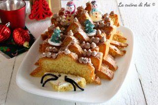 Riccio dolce natalizio con pandoro