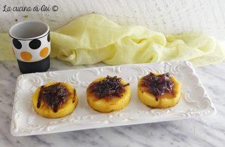Bocconcini di polenta con cipolla caramellata