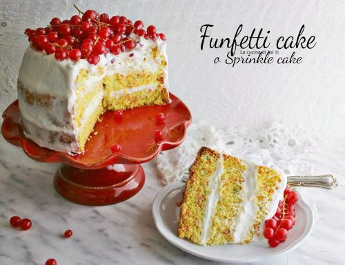 Funfetti cake – Sprinkle cake