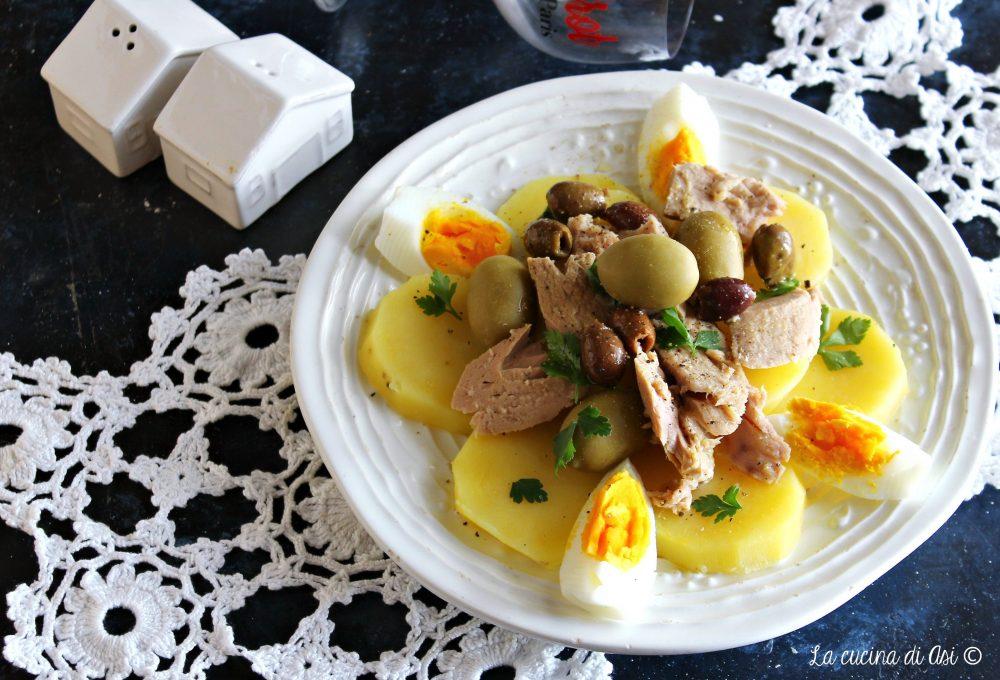 Insalata rustica con tonno e patate