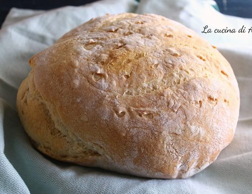 Pane facile da fare senza impasto