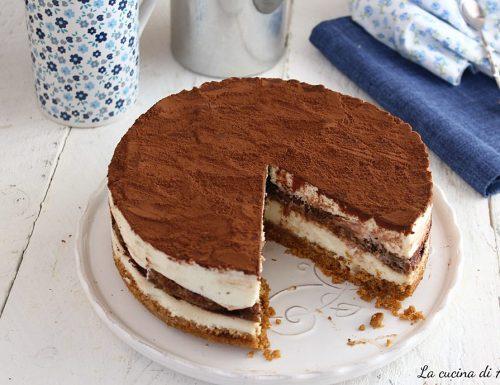 Tiramisù cheesecake senza uova