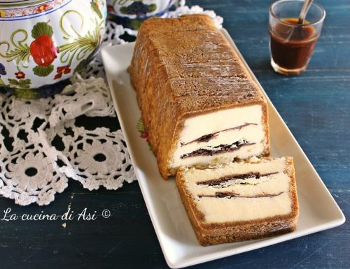Semifreddo con Pavesini crema e caffè