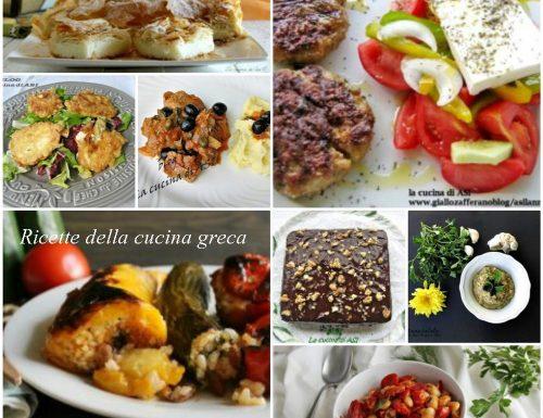 Raccolta di ricette della cucina greca