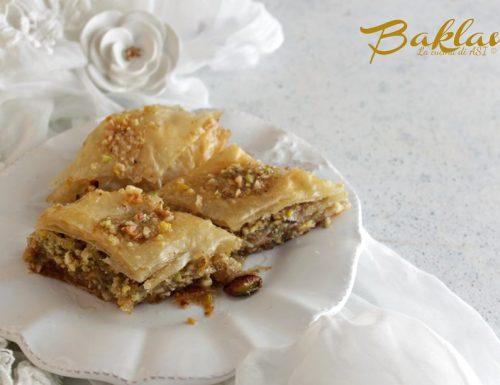 Baklava dolce greco
