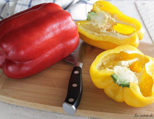 Come conservare perfettamente i peperoni