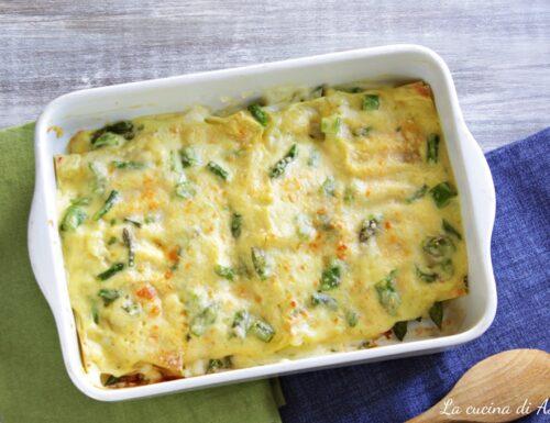 Cannelloni agli asparagi