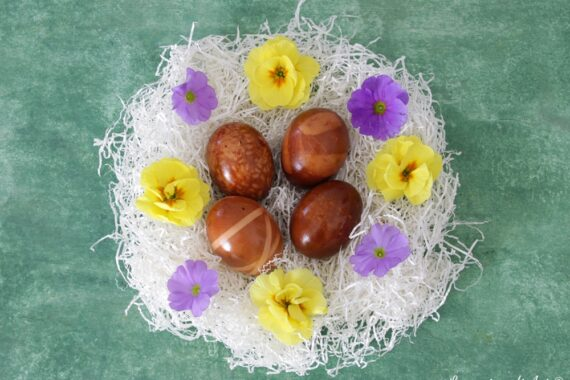 Come preparare le uova colorate pasquali