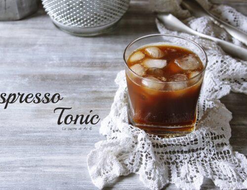 Espresso tonic  analcolico d'estate