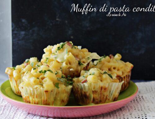 Muffin  di pasta condita