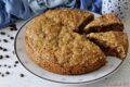 Torta biscotto rustico caffè e cioccolato senza lievito