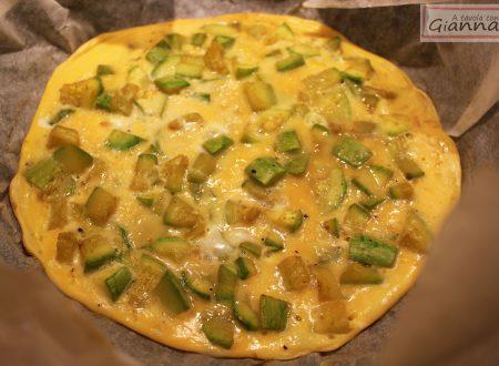 Frittata non fritta con zucchine speziate: in padella senza olio