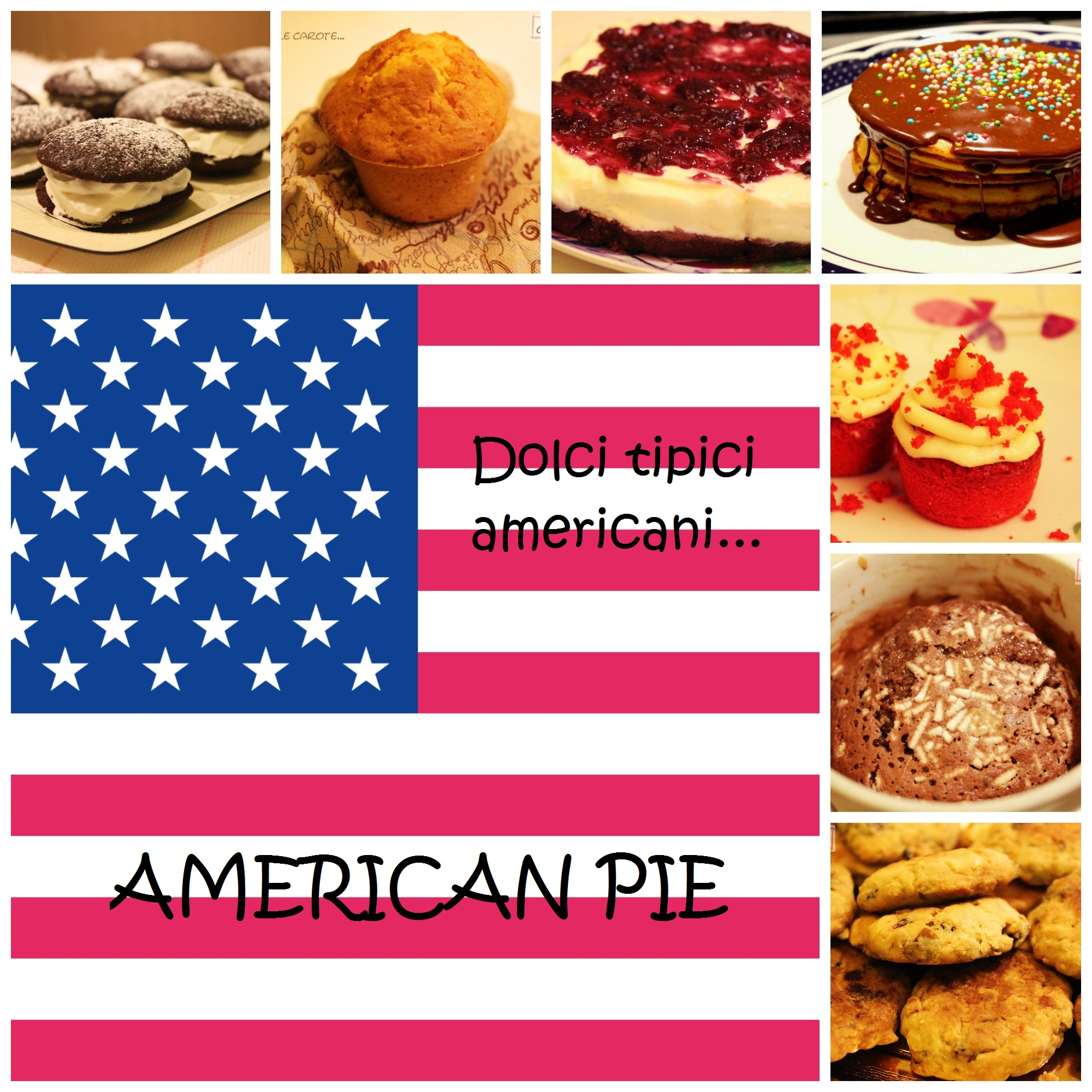 American pie dolci tipici americani a tavola con gianna - Food network ricette a tavola con guy ...