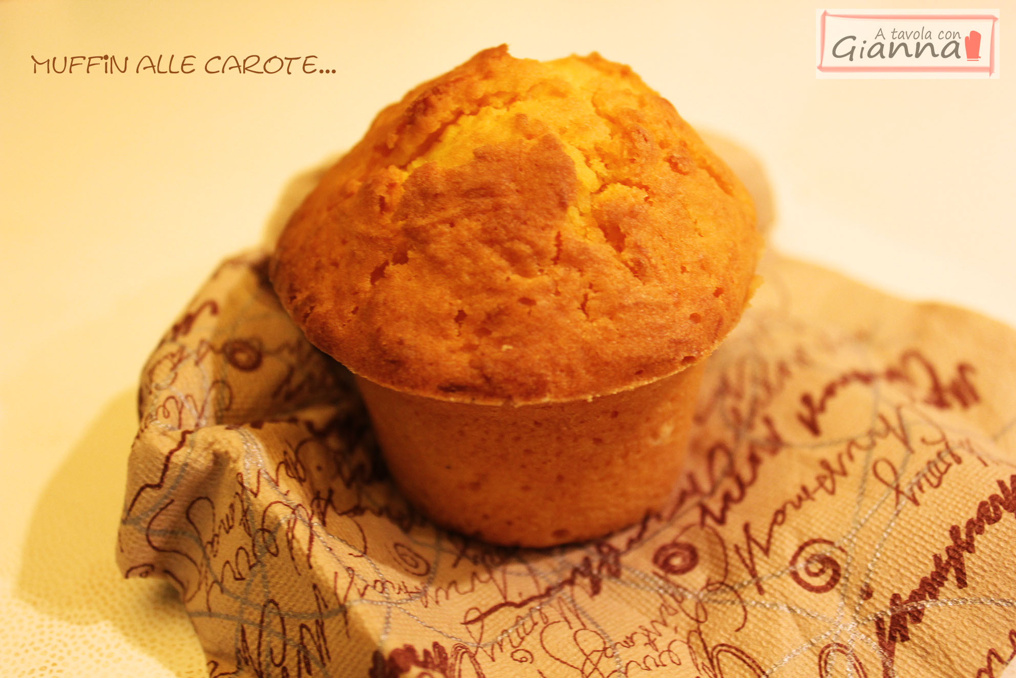 Muffin alle carote - Simil Camille