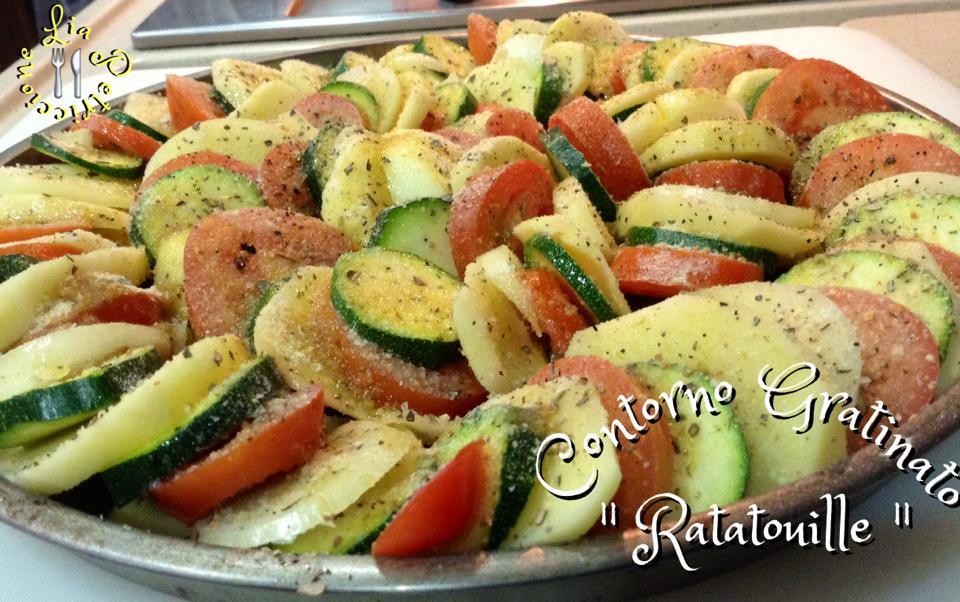 verdure gratinate ratatouille Lia