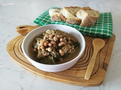 SCAROLA E FAGIOLI (minestra tipica partenopea)