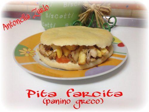 PITA FARCITA (panino greco)